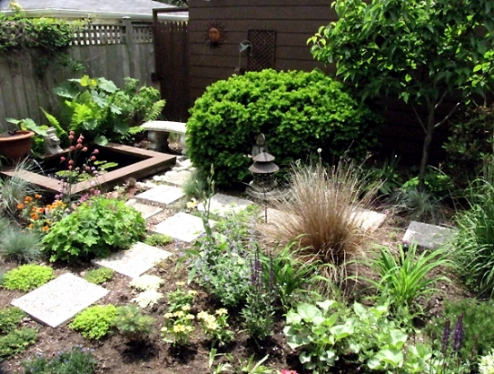 Garden design and maintenance