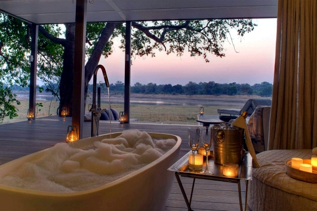 Chinzombo Safari Lodge in Zambia by Norman Carr Safaris