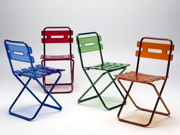 Folding chairs for garden and terrace - a Practice Area