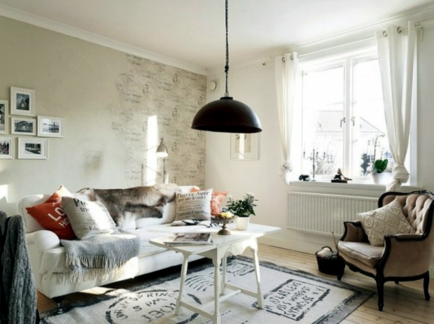 75 original ideas for decorating in the shabby chic style