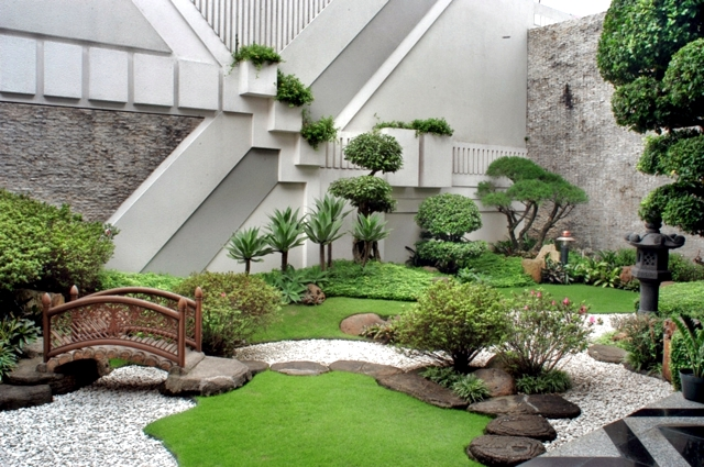 creating a rock garden garden that is
