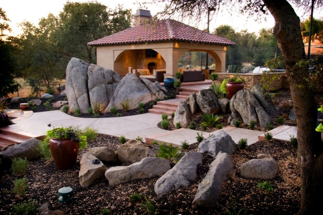 Creating a rock garden - 20 superb ex&les of garden design & Creating a rock garden \u2013 20 superb examples of garden design ...