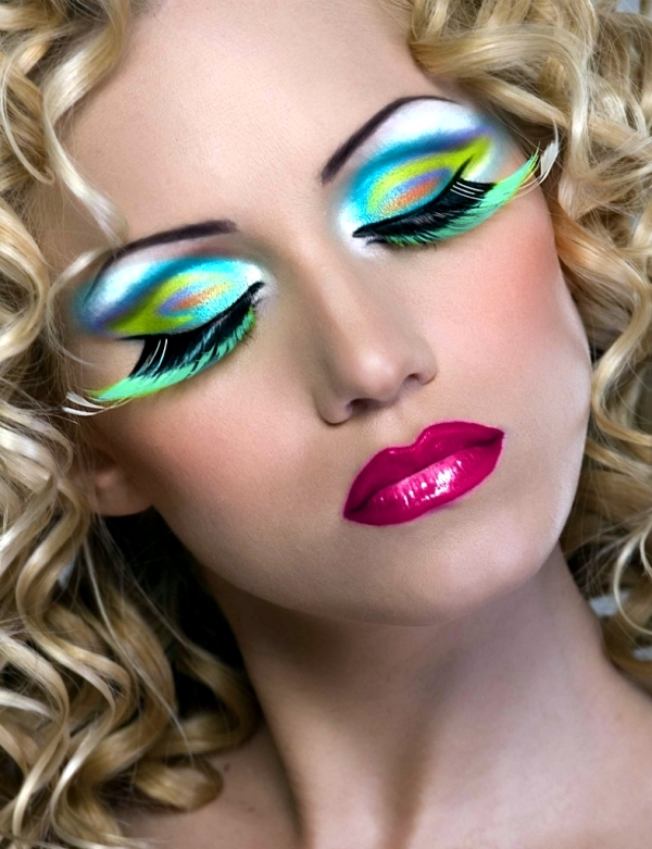 Make Up For Carnival 40 Ideas For A Striking Appearance