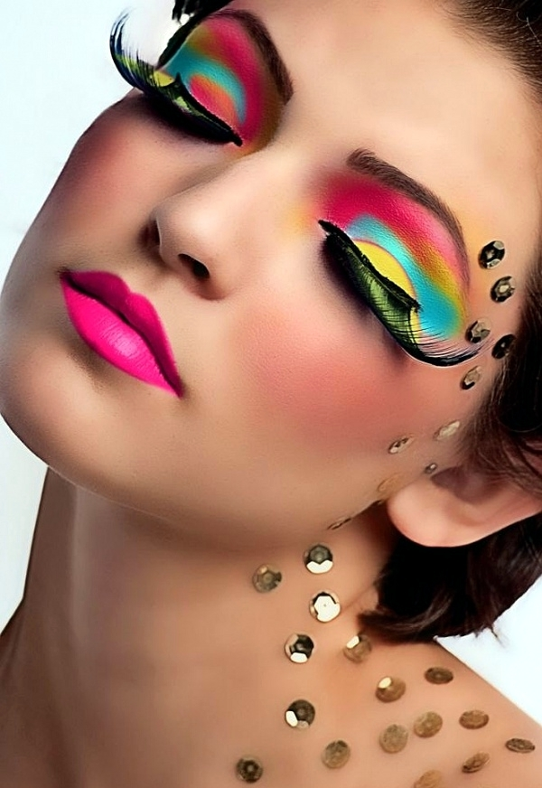 Make-up for carnival - 40 ideas for a striking appearance