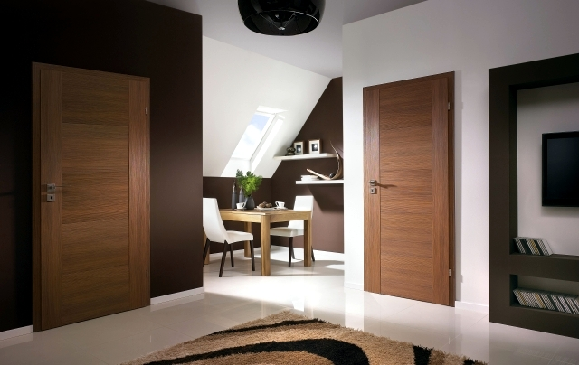 31 modern interior wood doors with glass doors Porta