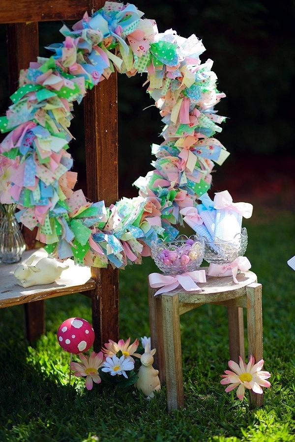 21 great decorating ideas for Easter for a colorful spring festival