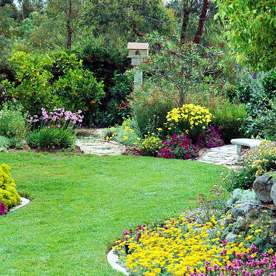 Create and maintain the grass Ideas for garden design