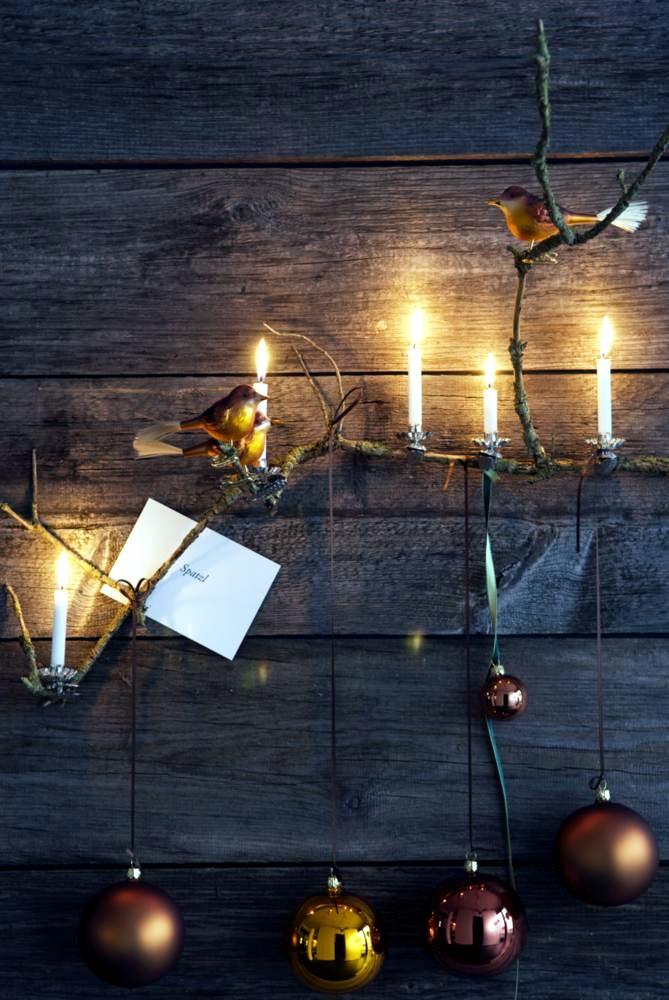 DIY: Weinachtsdeko Christmas ornaments, candles and