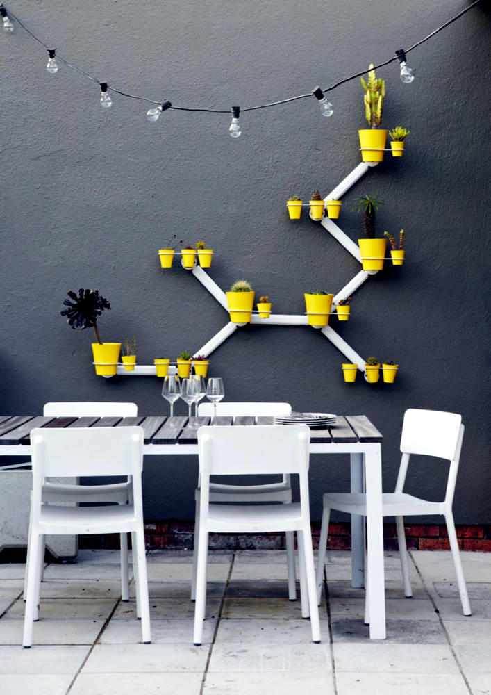 Wall Holder For Flower Pots Interior Design Ideas Ofdesign