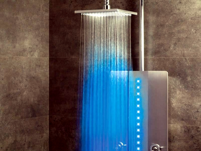 Modern shower faucets - Innovative rain Webert