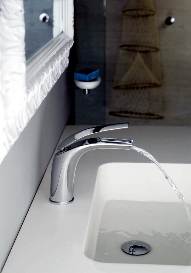 Modern shower faucets - Innovative rain Webert