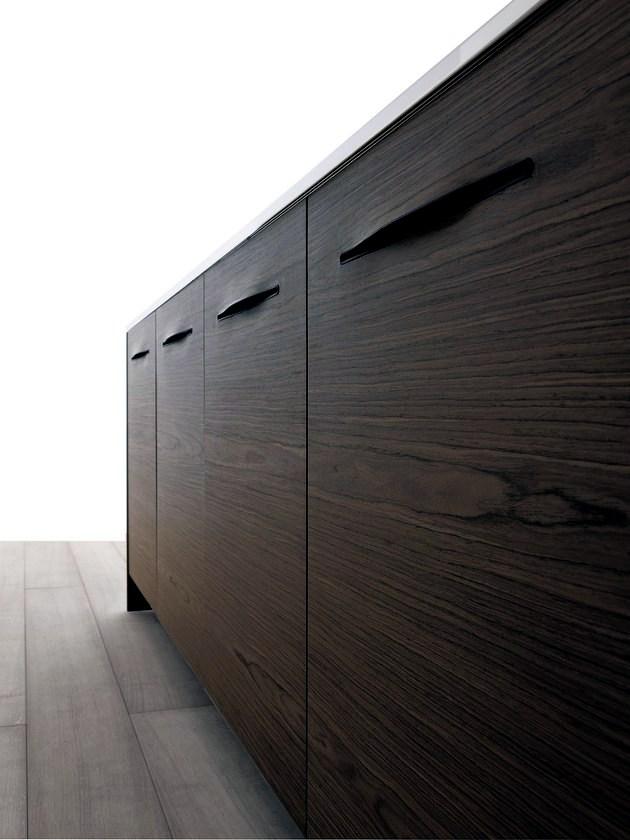 Modern Wood Kitchen Schiffini Bag Slots Instead Kitchen