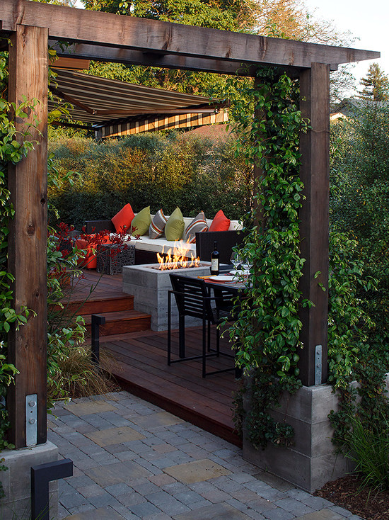 Patio garden. take a look at these 65 ideas for fabulous