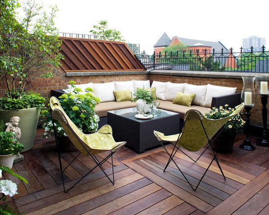 65 Ideas of terraces - beautiful garden and roof terraces