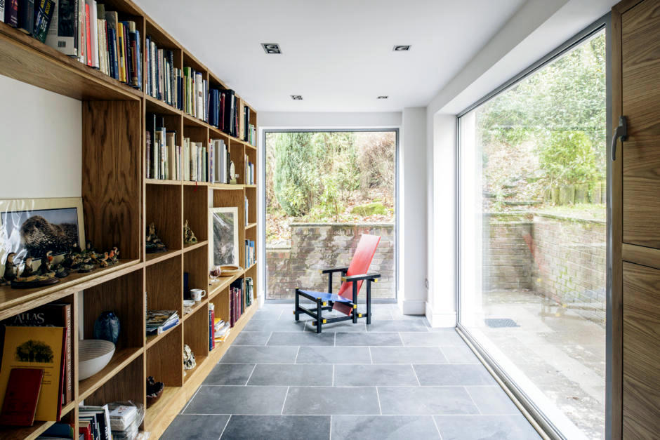 Small Library As A Refuge Interior Design Ideas Ofdesign