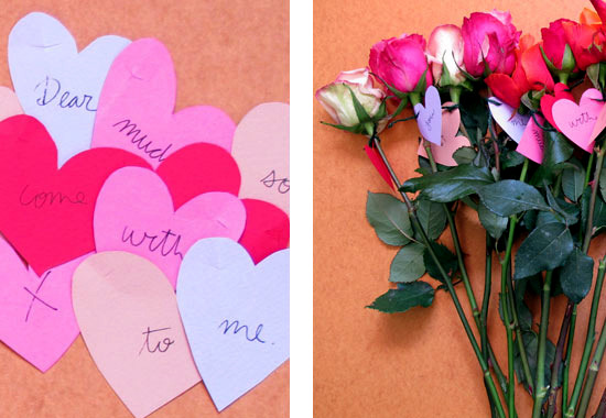 Romantic gifts and gestures to lovers in Valentine's Day