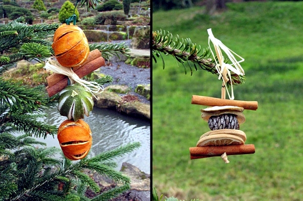 christmas tree decorations made from natural materials 20 ideas to make your own