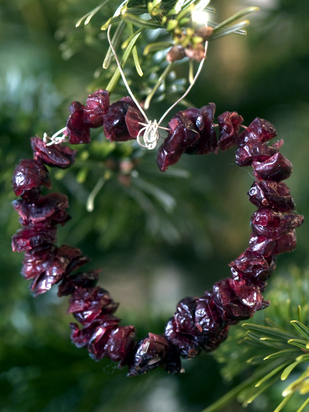 Christmas tree decorations made from natural materials - 20 Ideas to make your own