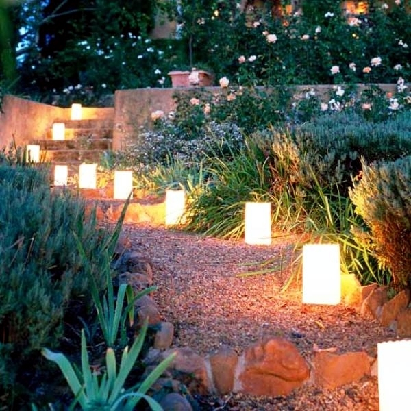 19 ideas for outdoor garden lanterns light