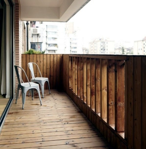 21 ideas for coating balcony - What materials are suitable?