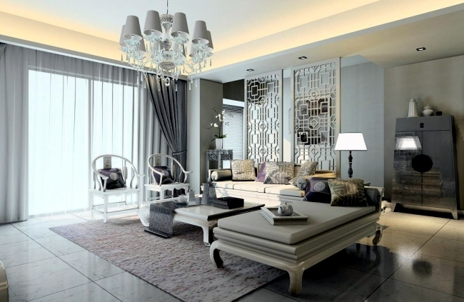Neoclassical interior style the elegance of the 18th for Modern neoclassical interior design