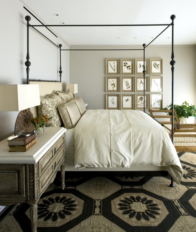 Mediterranean Bedroom Design: Neoclassical Interior Style