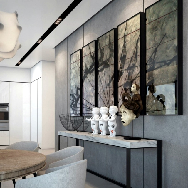 A luxury apartment individually and beautifully decorated in Tel Aviv