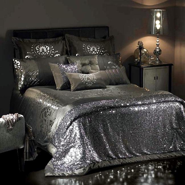 Luxury Bedding Kylie Minogue Satin Sequins And Elegant