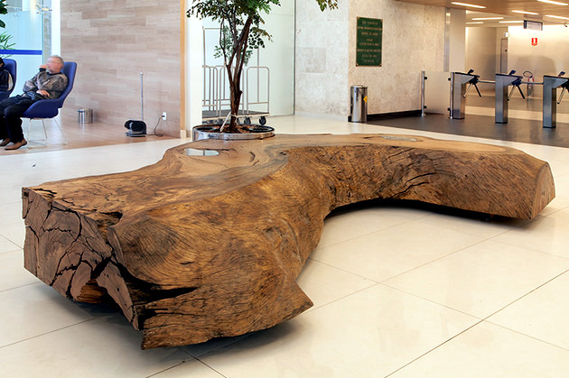 Wood furniture Sustainable Tora Brasil - A piece of wood in the house