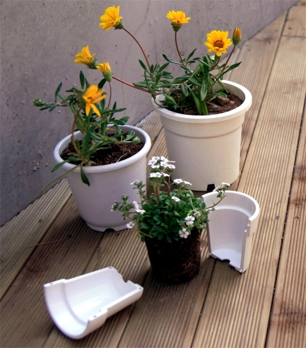 Planters - 19 Creative Ideas for Home Design Source