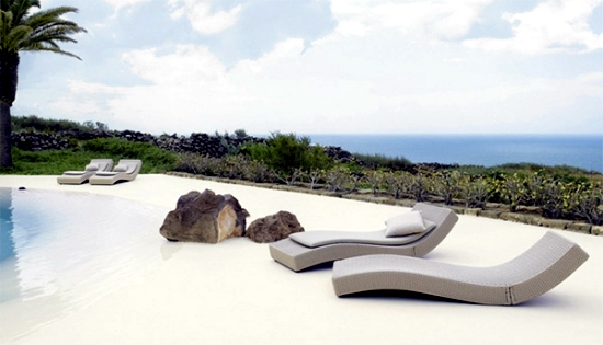 Garden Furniture Paola Lenti - art meets modern design