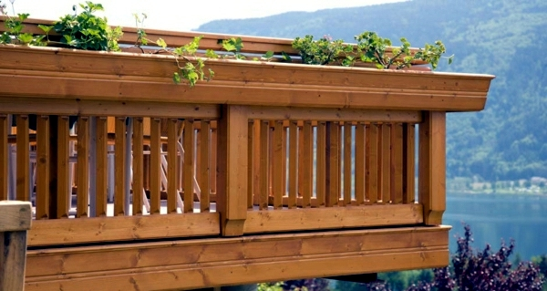 how to clean wood floor balcony