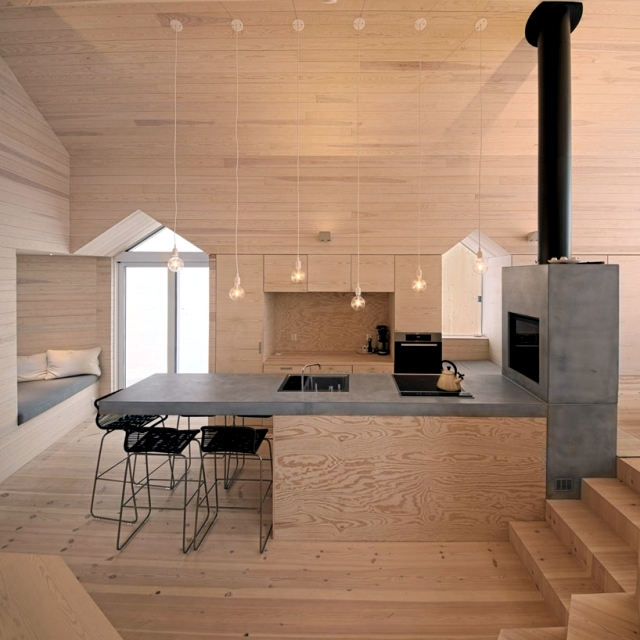 Modern Wooden House In Norway Offers A Breathtaking Panorama Of