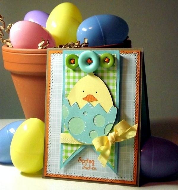 Ideas For Making Easter Cards Part - 50: Colorful And Imaginative Cards Easter Crafts U2013 18 Ideas To Suit