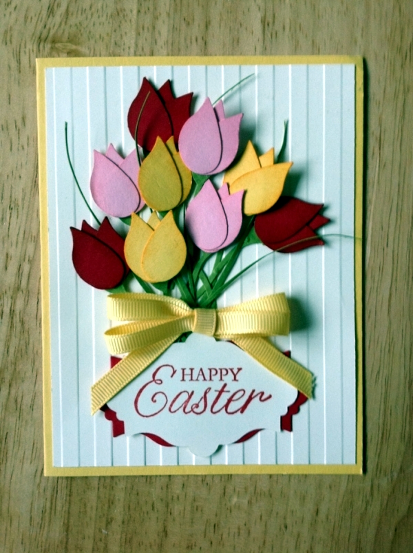 Colorful and imaginative Cards Easter Crafts - 18 Ideas to suit