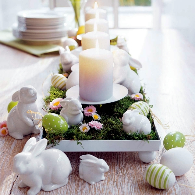Make Table Decoration For Easter Itself The Perfect Backdrop