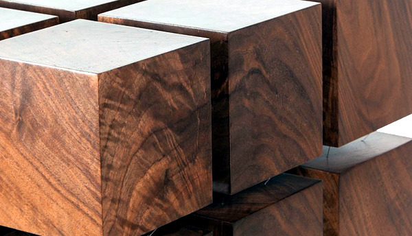 Innovative design furniture - coffee table with attractive magnetic system