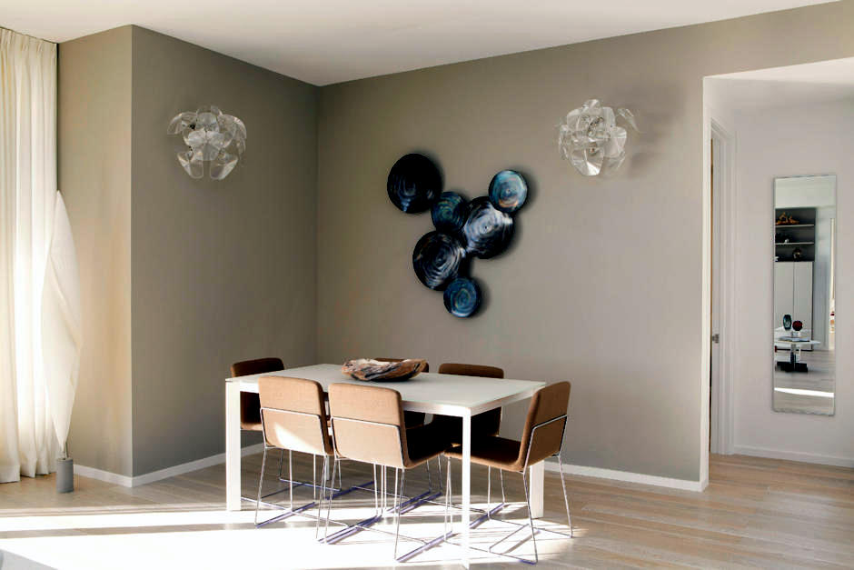 Design classic wall with wall plates | Interior Design ...