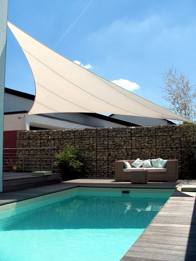 Custom Shade Sails For Terraces Modern Solar Control