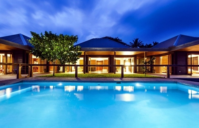 Fiji Luxury Villa Combines Tradition And High Level Of