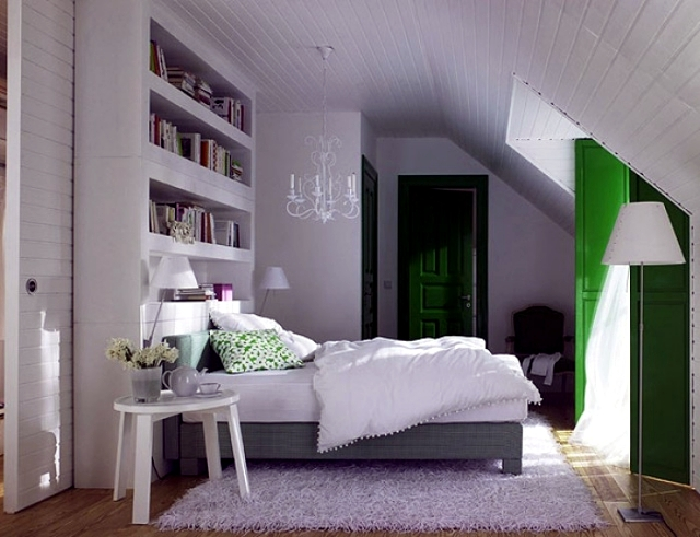 Design Rooms With A Sloping Roof Interior Design Ideas