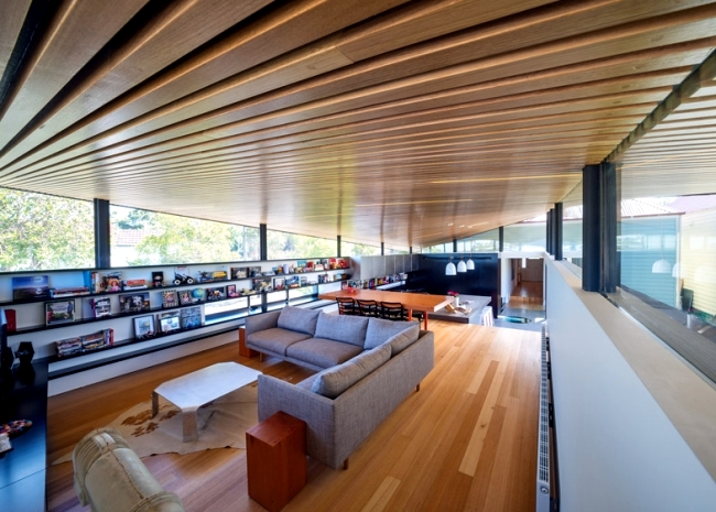 The conversion and extension of a modern building in Melbourne