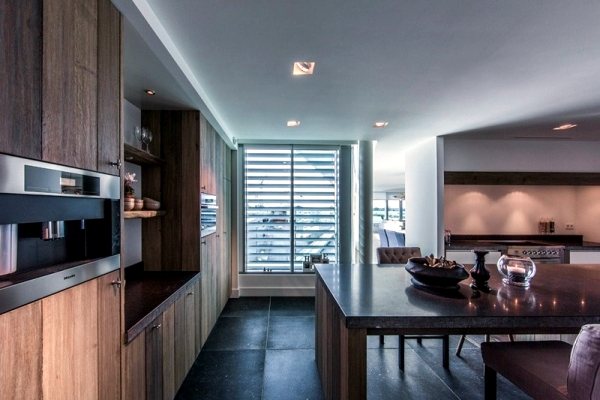 Apartment Skybox modern design offers excellent panoramic views
