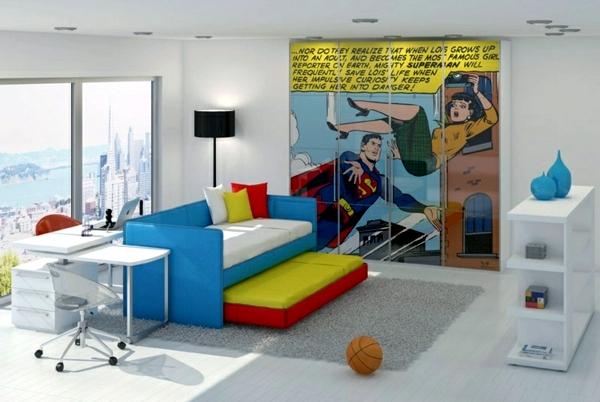 Bedroom Pop Art Interior Design