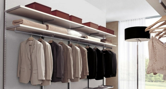 Organize the closet - Tips for perfect Ordungssystem