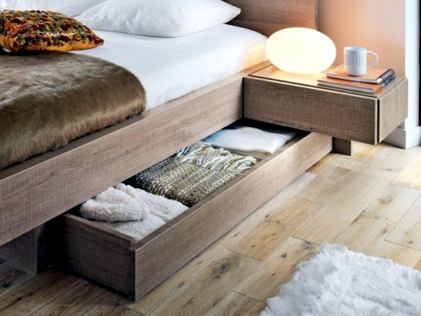 Good bed for the bedroom - healthy sleep and comfort