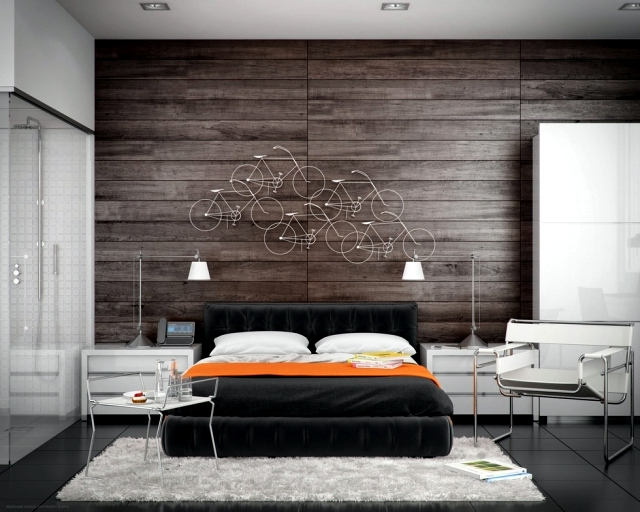 20 main sources of inspiration for the design of modern bedroom