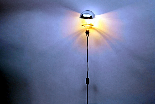 As minimalist wall lamp in the world by Brendan Ravenhill