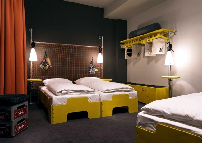 Hostel st pauli in hamburg stunning design a draft for Hostel design