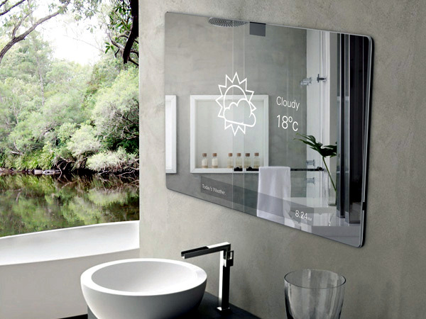More And More Designers To Successfully Integrate Into Their Modern  Furniture Gadgets. A Good Example Of This Is The Bathroom ...